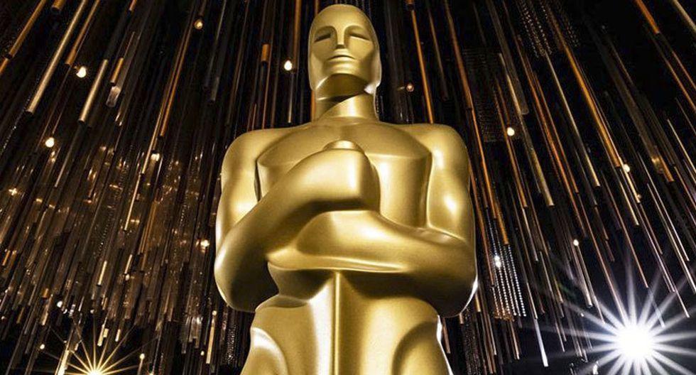 Foto de la estatuilla del Oscar 2020